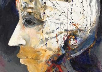 """""""El Vigia"""", acrylic/canvas, 57 x 60"""" ( 144 x 152 cm.) 2018"""