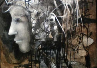 """Nocturno II"", acrylic/canvas, 60 x 45 in. (152.4 x 114.3 cm.) 2012"