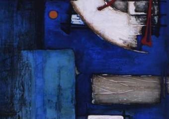 """""""Encrucijada"""", acrylic /canvas,  47.5  x 31.5 in. ( 120 x 80 cm ) 2016"""